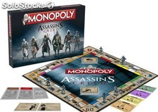 Monopoly assassins creed *castellano* PLL02-BG82837