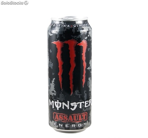 Monster Assault Lata 500 ml.
