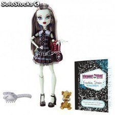 Monster High Frankie Stein y diario secreto