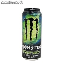 Monster Rehab Green Tea Lata 500 ml.