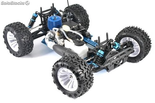 Monster Truck gasolina nitro RTR FTX 1/10 Carnage brushed RC