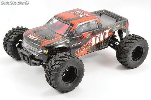 Monster Truck Surge eléctrico 4WD naranja 1:12 Brushed RTR FTX RC