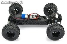 Monster Truck Surge eléctrico 4WD verde 1:12 Brushed RTR FTX RC
