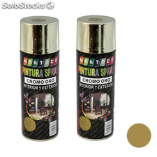 Montoro - Pack de 2 botes de pintura en spray Oro Brillo M309 400 ml