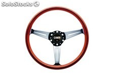 Monza:wooden volante omp d.360MM handgrip oval:25X23MM