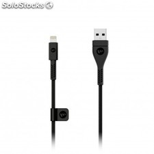 Mophie - pro cable / usb-a to Lightning 1.2m usb a Lightning Negro cable usb