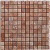 Mosaico travertino red 30.5x30.5