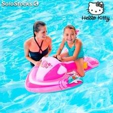 Moto de Agua Hinchable Hello Kitty