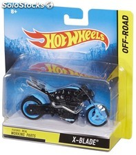 Moto hot wheels 1/18E