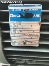 Motor marca Inge, Soll Rand, 25,3kw a 2920 rpm.