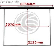 Motorized projection screen 1:1 2070x2130mm black wall DisplayMATIC (OT23)