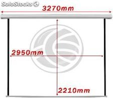 Motorized projection screen DisplayMATIC 150 white 2950x2210mm (OW25)