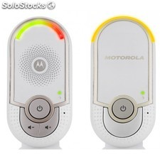 Motorola - MBP8 DECT babyphone 5channels Color blanco vigila bebes