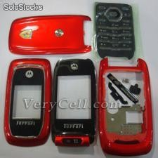 Motorola Nextel i897 full housing red el vendedor fábrica