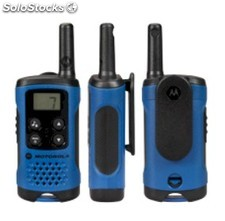 Motorola TLKR T41 Azules, pareja de Walkies Talkies