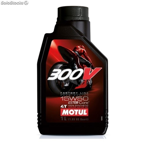 Motul 300V 4T factory line road racing 15W50 1 lt