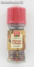 Moulin 5 baies 80ML bf