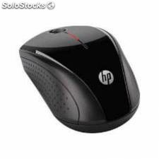 Mouse hp optico inalambrico x3000 usb 1200 dpi gris metálico negro brillante