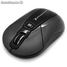 Mouse raton optico phoenix wireless inalambrico windows 8 y 10 nano receptor usb