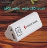 movil alimentacion energia portatil viaje poder 6600mAH para MP3 MP4 phone ipad