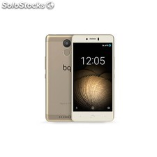 Movil bq aquaris u plus 4G lte 2GB 16GB dorado