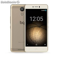 Movil bq aquaris u plus 4G lte 2GB 16GB dorado PGK02-A0011990