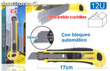 Mp cutter retractil profesional 17CM\, PH004