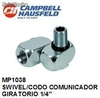 Mp1038 swivel,codo comunicador giratorio 1/4