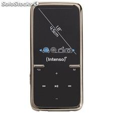 MP3 8GB intenso video scooter negro