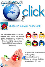 Mp3 Angry Bird coleccionables