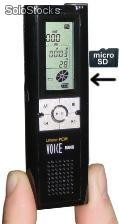 "MP3 / PCM - Recorder ""SD Time & Date Stereo"""