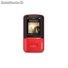 MP4 4GB philips gogear SA4VBE04RF/12 red