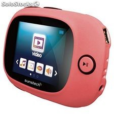 "MP4 Sunstech SPORTYII4GBPK 4 GB 1.8"" Rosa"