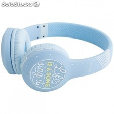 Mr. Wonderful - MRAUR003 Azul Supraaural Diadema auricular