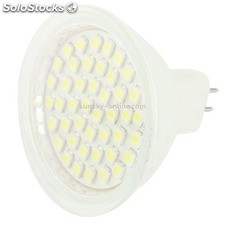 MR16 3W Blanco 44 led smd 3528 Bombilla, 220V ac