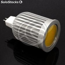 MR16 cob led bulb light 50mm 12VDC 5W warm (NJ24)