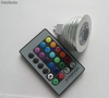 Mr16 Focos led de 3w rgb 12v