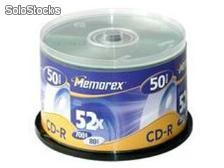 MRX CD-R 700MB 52X 10 Cakebox