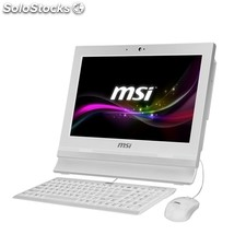 Msi All In One - AP1622 - Celeron 1037 - 2GB - 320GB - FreeDos - 15.6´ tactil -