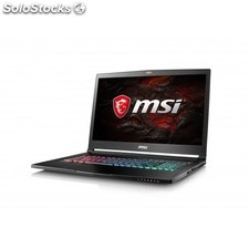 "Msi - Gaming GS73 7RE-027XES Stealth Pro 2.8GHz i7-7700HQ 17.3"""" 1920 x"