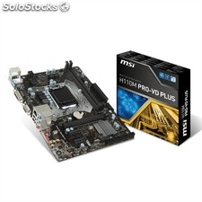 Msi Placa Base H110M pro-vd plus mATX LGA1151