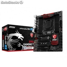 Msi - X99A gaming 7 Intel X99 lga 2011-v3 atx placa base