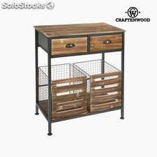 Mueble 2 cajones industrial by Craftenwood
