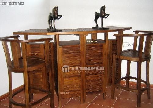 Mueble bar teka 20170921182610 for Diseno de barras de bar en madera