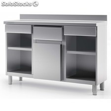 Mueble cafetero 200X60X105 industrial