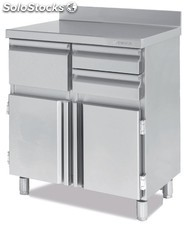 Mueble cafetero 86X60X100 industrial