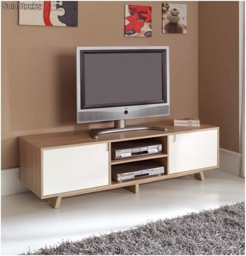 Mueble de tv nordico tv 803 for Muebles para tv segunda mano