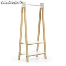 Mueble perchero Stick - Color - Fresno Natural