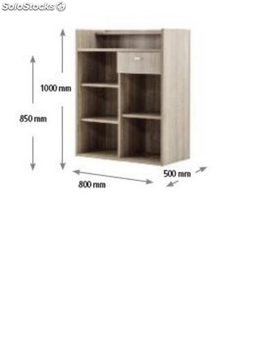 Mueble recepcion md earth for Mueble recepcion medidas