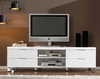 mueble tv blanco brillo